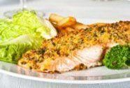 Fisch mit Mandelkruste