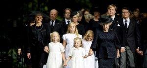 Königliche Familie nahm Abschied von Prinz Friso