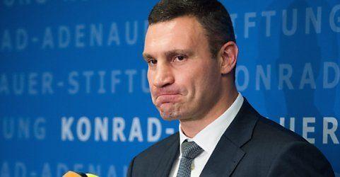 Klitschko hat die Absicht, eine Mauer zu errichten - hilft Berlin?