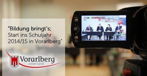 """Pressefoyer live: """"Bildung bringt's – Start ins Schuljahr"""""""