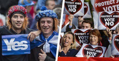 """Schottland: Die wichtigsten Argumente für """"Yes"""" und """"No"""""""