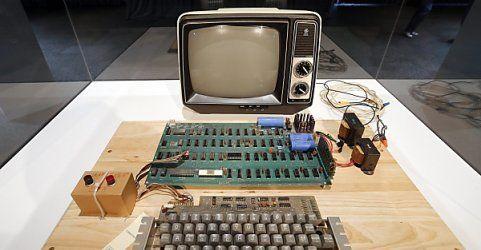 Auktion: Rekordpreis für einen der ersten Apple-Computer