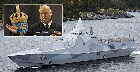 Schwedens Militär zeigt Bild des gesuchten Unterwasserobjekts
