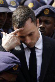 Pistorius verbrachte erste Gefängnisnacht auf der Krankenstation