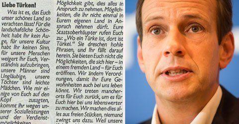 Anti-Türken-Facebook-Posting von Egger sorgt für Aufregung
