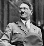 Hitler auf Schweizer Kaffeesahne-Deckel