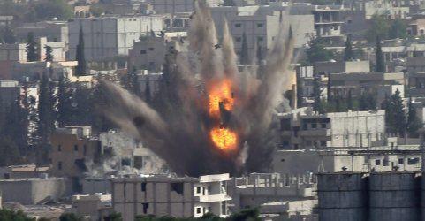 USA und Saudis fliegen bisher stärkste Luftangriffe gegen IS