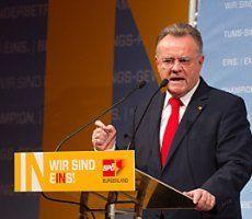 Burgenland: Niessl mit 96 Prozent SPÖ-Chef