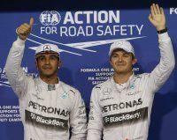Rosberg holt sich Abu-Dhabi-Pole