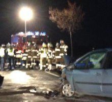 Hohenems: Vier Verletzte bei Unfall