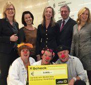 Varieté am Bodensee: 3.000 Euro für Cliniclowns