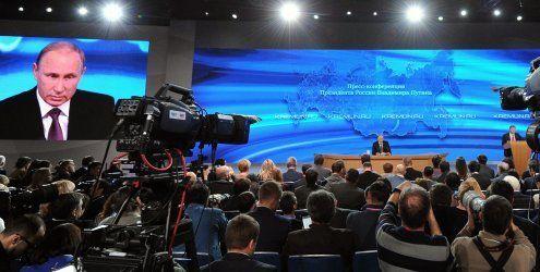 Putin gibt Ausland Schuld an Wirtschaftskrise in Russland