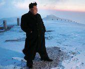 Kim Jong-un bestieg angeblich Nordkoreas höchsten Berg
