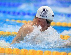 Schwimmen: Adam Peaty über 100 Meter Brust mit Weltrekord