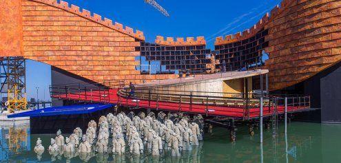 """Richtfest: So sieht die Seebühne für """"Turandot"""" in Bregenz aus"""