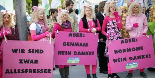 22.000 Österreicher gingen gegen TTIP-Abkommen auf die Straße