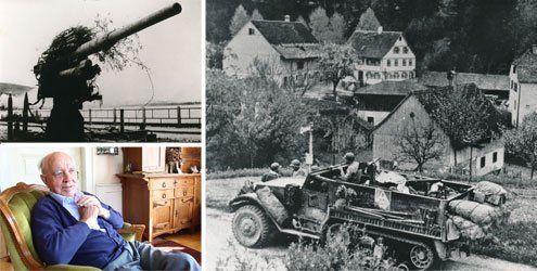 Am 30. April 1945 marschieren die Franzosen in Richtung Bregenz