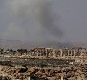 Angst um Ruinenim antiken Palmyra