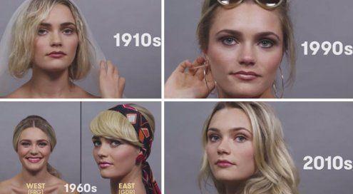 Wie sich die Mode verändert hat: 100 Jahre Schönheit im Zeitraffer
