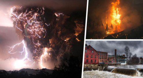 Gefährlich schön: Naturgewalten in all ihrer faszinierenden Pracht