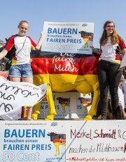 27 Cent pro Kilo Rohmilch: Tausende Milchbauern protestieren in München