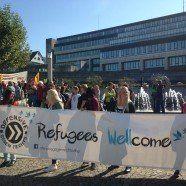 Demo für menschliche Asylpolitik in Bregenz