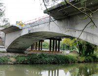 Restbrücke wird filetiert