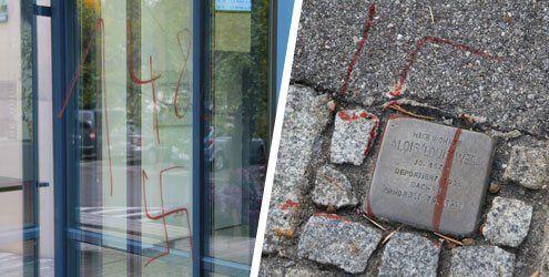 Weitere Nazi-Schmierereien in Ems – Polizei bittet um Hinweise