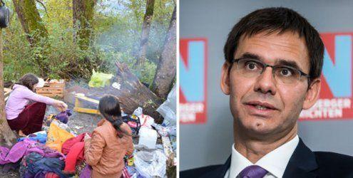 """""""An Spielregeln halten"""": Auch LH Wallner weist Roma-Kritik zurück"""