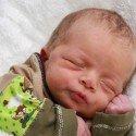 Geburt von Simon Fritz am 2. Jänner