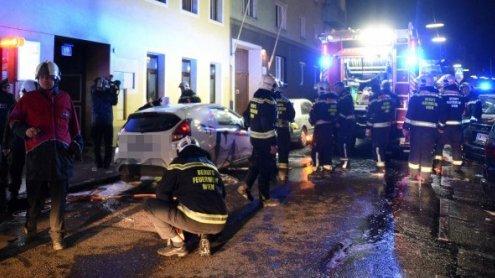 """31 Verletzte bei Großbrand in Wien: """"Menschen riefen um Hilfe"""""""