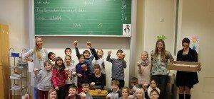Volksschule Edlach in Dornbirn: Krapfen gewonnen!