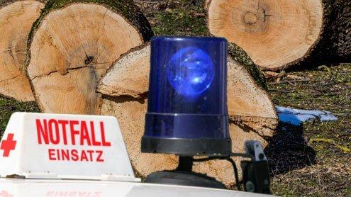 60 Meter abgestürzt: 31-jähriger Forstarbeiter tödlich verunglückt