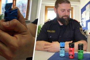 Pfefferspray-Einsatz kann ins Auge gehen: Chefinspektor erklärt richtigen Gebrauch
