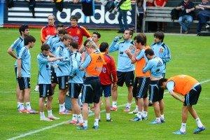EM-Vorbereitung im Montafon: Spanien trainiert wieder in Schruns