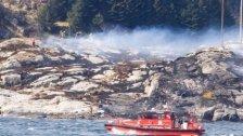 Helikopter in Norwegen abstürzt: Zahlreiche Tote