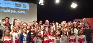 Kinderchor Calypso im Finale des MundART-Wettbewerbs und in der Zielgerade beim Online-Voting