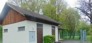 WC Anlage für Spielplatz im Brühl