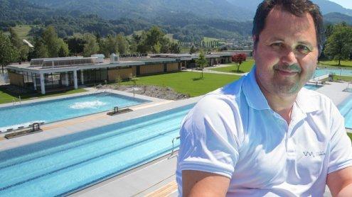 Walgaubad beheizt die Pools! Ist das sinnvoll, Herr Tschabrun?