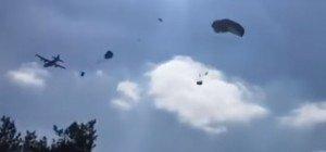 Wenn Humvees vom Himmel fallen: Panne bei Übung der US-Armee
