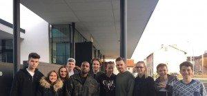 Hip Hop-Superstar Kanye West besuchte das Wolford Headquarter in Bregenz