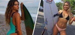 Die zwei heißesten Surfer-Girls der Welt