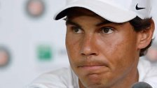 Rafael Nadal muss in Paris verletzt w.o. geben