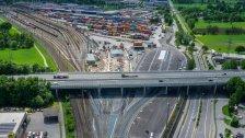 Güterbahnhof neu: erster Bauabschnitt ist fertig