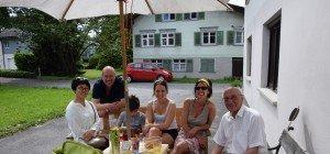 Bänklehock in Altach