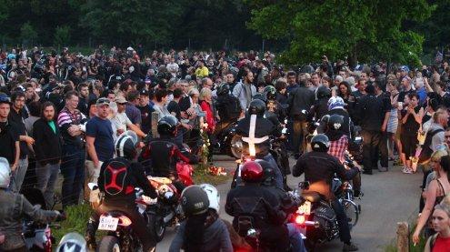 Amoklauf in Nenzing: Mehr als1500 Biker bei Gedenkausfahrt
