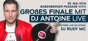 DJ Antoine live in der Babenberger Passage bei Kick the Mix!