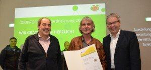 Burtscher Stahlmanufaktur – Auszeichnung zum Ökoprofit Betrieb