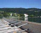 Hochwasserschutzmaßnahmen gegen die Gewitterstürme am See