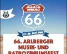 66. Arlberger Musikfest + Patroziniumsfeier in Klösterle am Arlberg